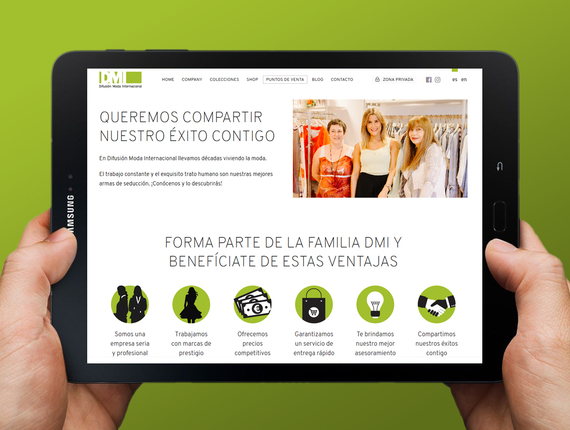 Difusión Moda Internacional (DMI) launches new website